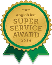 Angie's List - Super Service Award 2014