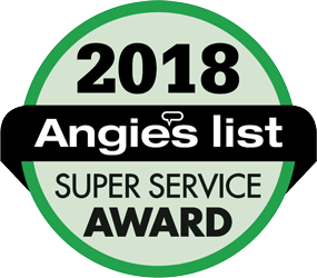 Angie's List - Super Service Award 2018